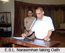 E S L Narasimhan, Indian Politician