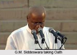 Gowdar Mallikarjunappa Siddeswara, Indian Politician