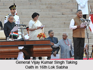 General Vijay Kumar Singh, Indian Politician