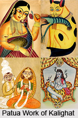 Influence of Food in Bengali Patua Work