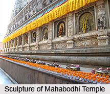 Sculpture of Mahabodhi Temple