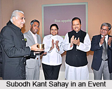 Subodh Kant Sahai, Indian Politician