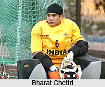 Bharat Chettri, Indian Hockey Player