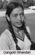Gangotri Bhandari, Indian Hockey Player