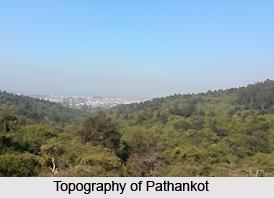 Geography of Pathankot, Punjab