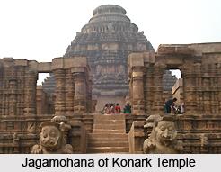 Jagamohana of Konark Temple, Orissa