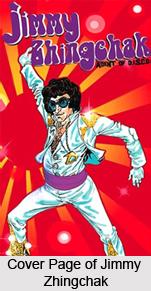 Jimmy Zhingchak- Agent of D.I.S.C.O., Indian Comics Series