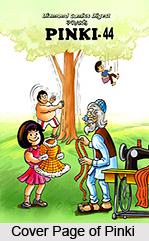 Pinki, Characters in Indian Comics Series