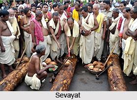 Sebakas, Jaganath Temple of Puri