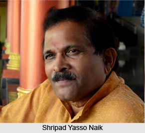 Shripad Yasso Naik, Indian Politician