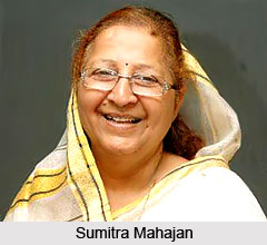 Sumitra Mahajan, Indian Speaker