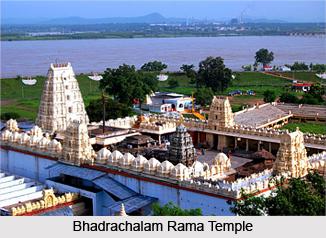 Bhadrachalam Rama Temple, Khammam district, Telangana