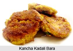Kancha Kadali Bara, Oriya Recipe