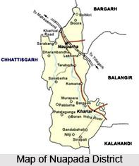 Nuapada District, Orissa