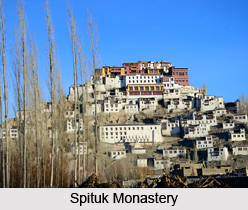 Spituk Monastery, Leh, Jammu and Kashmir