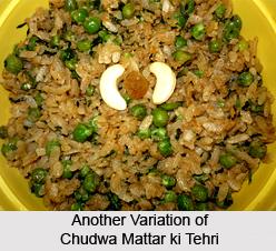Chudwa Mattar ki Tehri, Indian Snacks