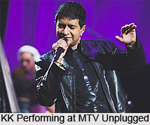 KK, Indian Playback Singer