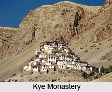 Kye Monastery, Spiti District, Himachal Prades