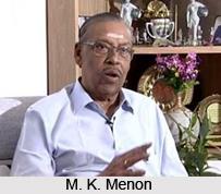 M. K. Menon, Indian Writer