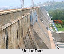 Mettur Dam, Tamil Nadu