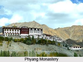 Phyang Monastery, Leh, Jammu and Kashmir