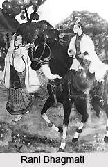 Rani Bhagmati , Queen of Golconda Sultan