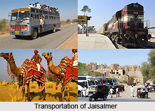 Transportation of Jaisalmer city