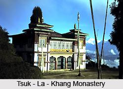 Tsuk- La- Khang Monastery, Sikkim