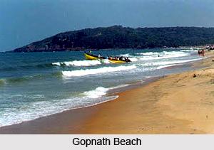 Tourism in Gopnath Beach