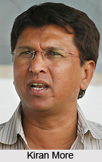 Kiran More, Indian Cricket Player