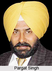 Pargat Singh  , Indian Hockey Player