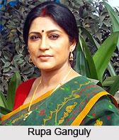 Rupa Ganguly, Bengali Actress