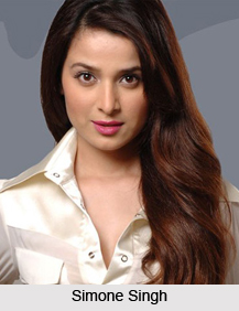 Simone Singh, Indian Television Actress