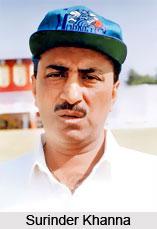 Surinder Khanna, Delhi Cricket Player