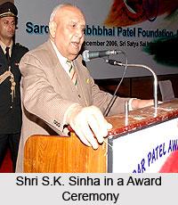 Lt. Gen. S.K. Sinha, Former Governor of Jammu & Kashmir