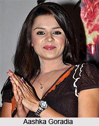 Aashka Goradia, Indian TV Actress