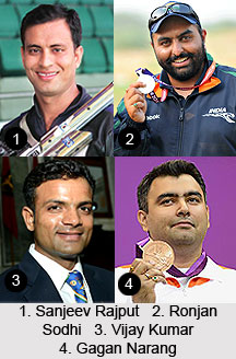 Arjuna Awardees in Shooting