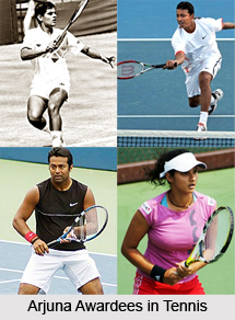 Arjuna Awardees in Tennis