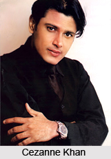 Cezanne Khan , Indian TV Actor