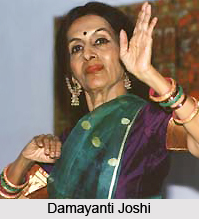 Damayanti Joshi, Indian Dancer