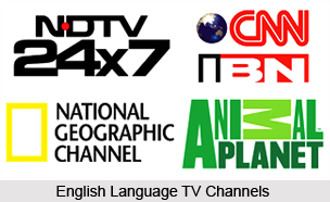 English Language television channels