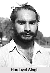 Hardayal Singh  , Indian Hockey Player
