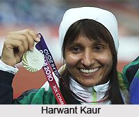 Harwant Kaur, Indian Discus Thrower