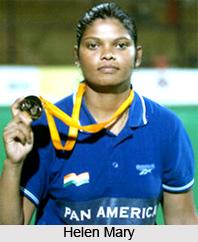 Helen Mary  , Indian Hockey Player