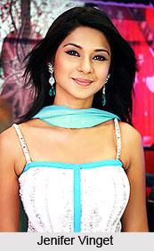 Jenifer Vinget aka Simran,  TV Actress