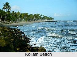 Kollam Beach, Kollam, Kerala