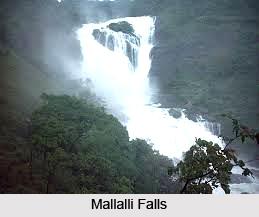 Mallalli Falls, Kodagu District, Karnataka