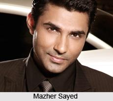 Mazher Sayed, Indian TV actor