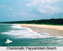 Payyamblam Beach, Kannur District, Kerala