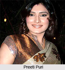 Preeti Puri, Indian TV Actress